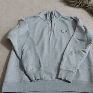 Calvin Klein 3/4 zip sweater